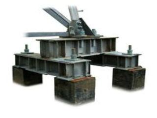 Металлоконструкции свайных фундаментов (ростверки сваи)