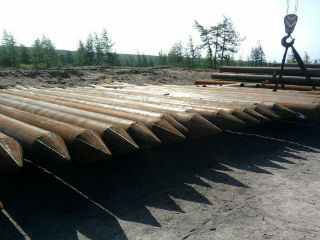 Оболочки изготовляются из стальных листов толщиной соответствующей длине