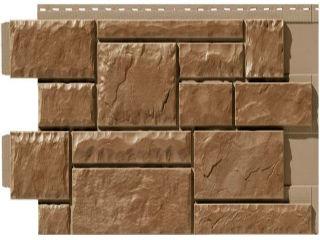 Фасадная панель тесаный камень Novik Канада