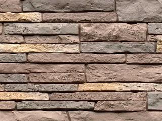 Фасадные (цокольные) панели под камень Nailite