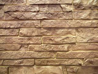 Цокольная панель FineBer камень натуральный терракотовый