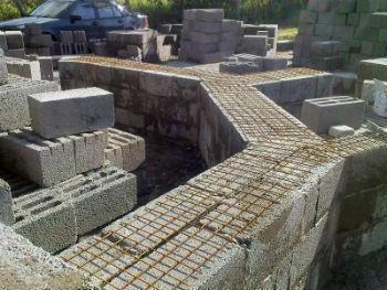 Устройство дома из керамзитобетонных блоков