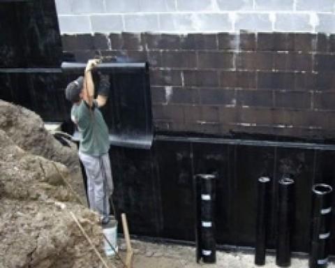 Применение рулонной гидроизоляции фундамента