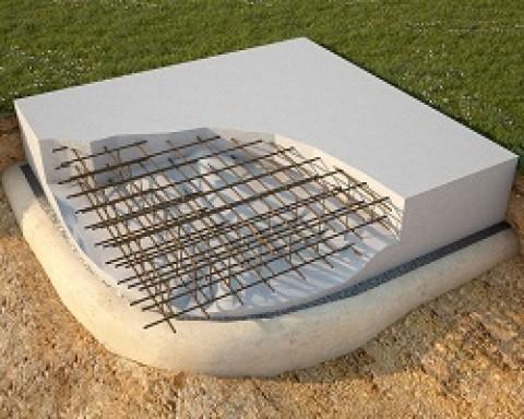 Как создается плиточный фундамент?