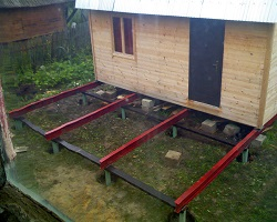 Дом на реконструированном фундаменте