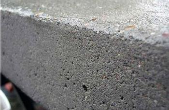 Застывшая бетонная поверхность