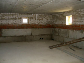 Цокольный этаж изнутри