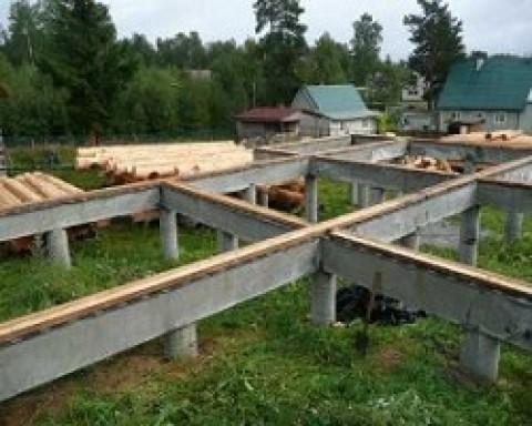 Буронабивной фундамент с ростверком— технология строительства