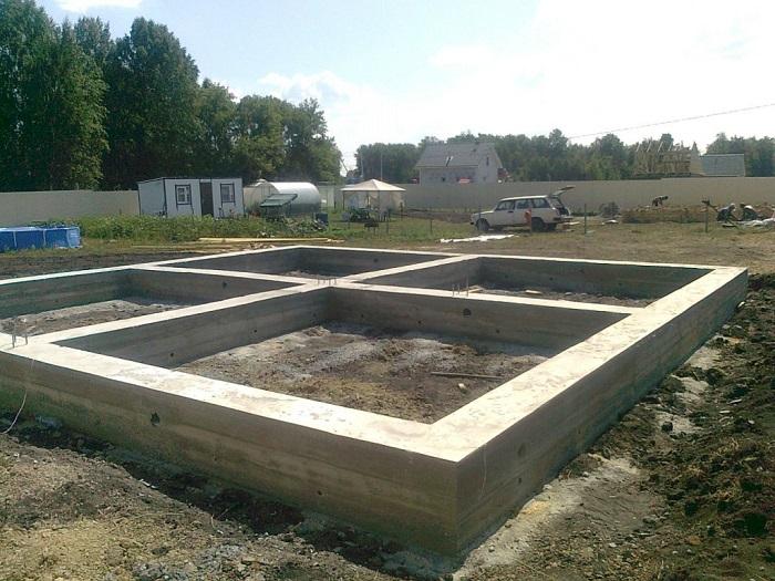 Фундамент для дома из газобетона