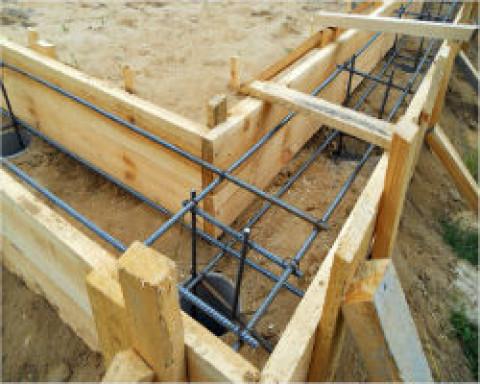 Строим опалубку для фундамента своими руками