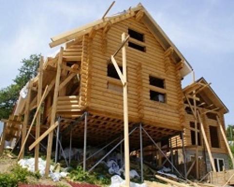Выбор и строительство фундамента под деревянный дом