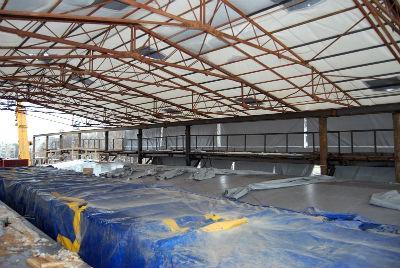 Качественный тепляк для бетонного раствора