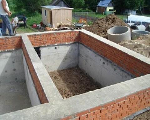 Как сделать фундамент для дома с подвалом своими руками?